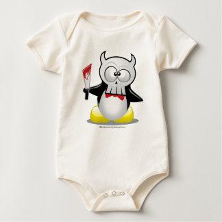 ホラー映画のペンギン ベビーボディスーツ