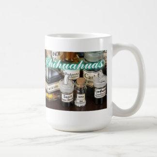 ホリスティックなチワワ コーヒーマグカップ