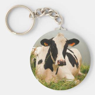 ホルスタイン牛 キーホルダー