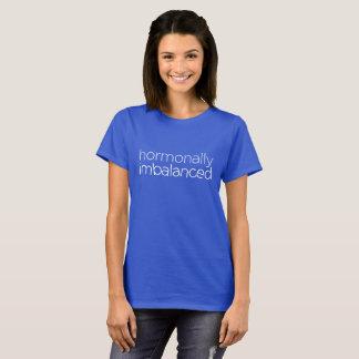 """""""ホルモン的に不均衡"""" Tシャツ"""