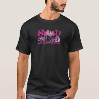 ホルモン的に挑戦されたピンク Tシャツ