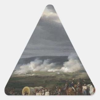 ホレスVernet著Jemappesの戦い 三角形シール
