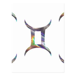 ホログラムのジェミニ ポストカード