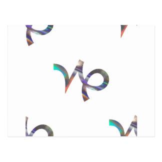 ホログラムの山羊座 ポストカード