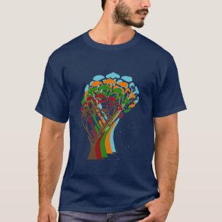 ホログラムの木 Tシャツ