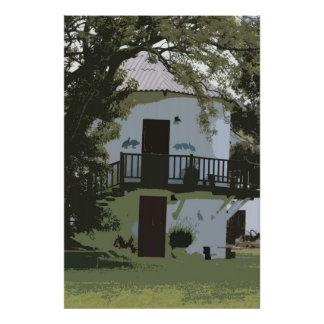 ホロホロ鳥の家 ポスター