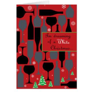 ホワイトクリスマス カード