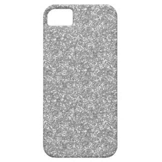 ホワイトゴールドのグリッター iPhone SE/5/5s ケース