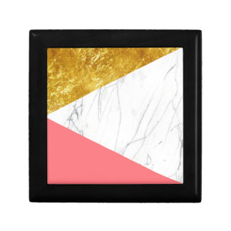 ホワイトゴールドのサケの大理石 ギフトボックス