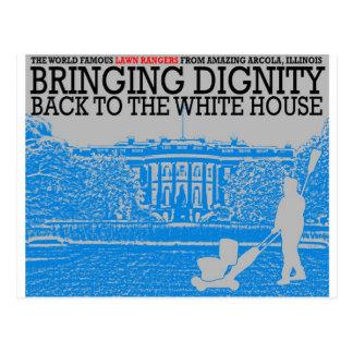 ホワイトハウスに威厳を戻すこと ポストカード