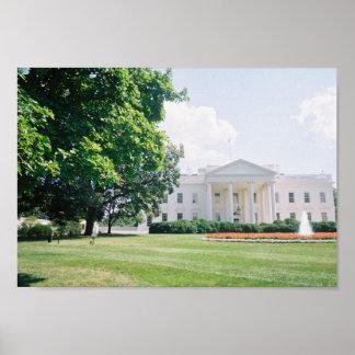 ホワイトハウスポスター ポスター