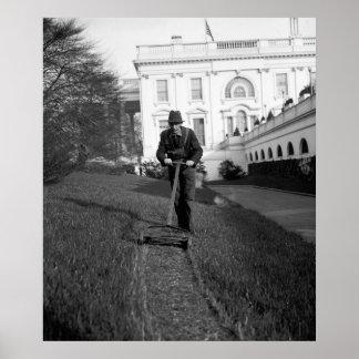 ホワイトハウス、緑の芝生: 1937年 ポスター