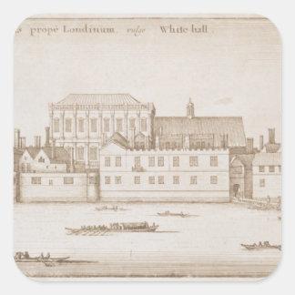 ホワイトホール1645年の眺め スクエアシール
