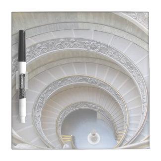 ホワイトボード--螺線形階段 ホワイトボード