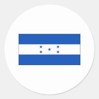 ホンジュラスの旗インターナショナル ラウンドシール