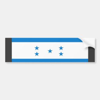 ホンジュラスの旗 バンパーステッカー