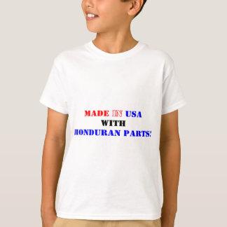 ホンジュラスの部品 Tシャツ