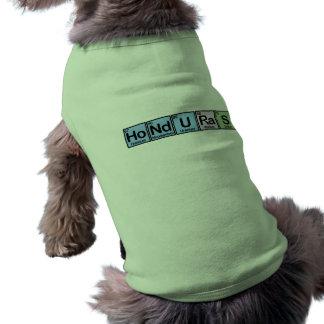 ホンジュラスは要素の作りました ペット服