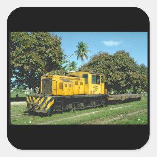 ホンジュラス、世界の遠いRR_Trains スクエアシール
