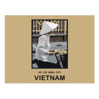 ホーチミン市ベトナム ポストカード