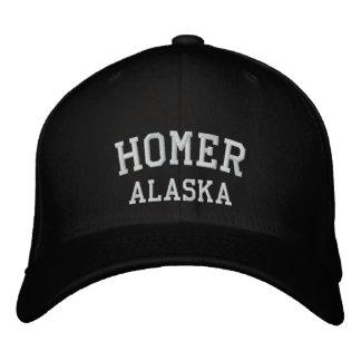 ホーマー、アラスカ 刺繍入りキャップ