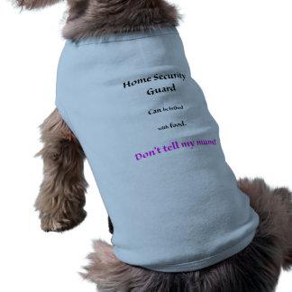 ホームセキュリティーの監視ペット衣類は私のミイラを告げません ペット服