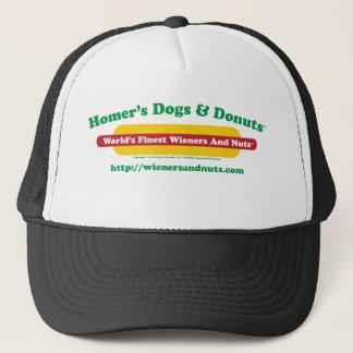 ホームランの犬及びドーナツ キャップ