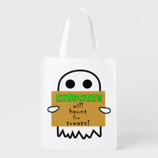 ホームレスの幽霊のトリック・オア・トリートのバッグ エコバッグ