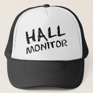 ホールのモニターの黒 キャップ