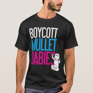 ボイコットのマレットのベビー(暗い) Tシャツ