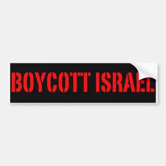 ボイコット|イスラエル共和国|-|バンパー|ステッカー
