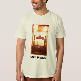 ボイラーバー、油のパンク Tシャツ