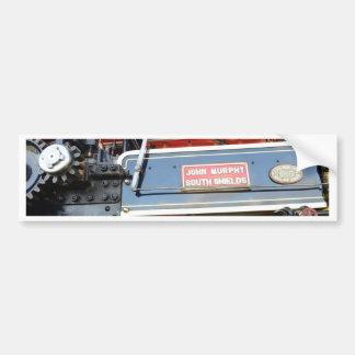 ボイラー詳細の牽引車の知名 バンパーステッカー
