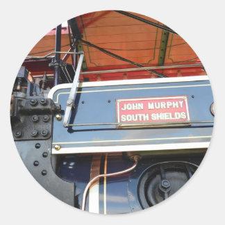 ボイラー詳細の牽引車の知名 ラウンドシール
