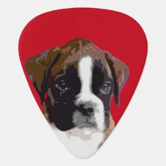 ボクサーの子犬 ギターピック