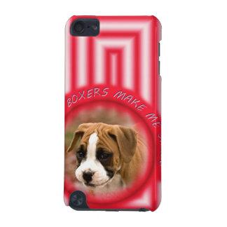 ボクサーの小犬のIpod touchの微笑の場合 iPod Touch 5G ケース