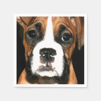 ボクサーの小犬 スタンダードカクテルナプキン
