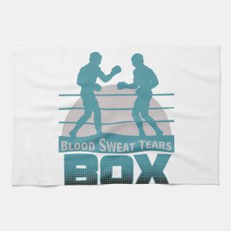 ボクサーの小競合 キッチンタオル