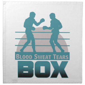 ボクサーの小競合 ナプキンクロス