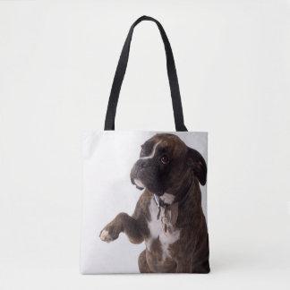 ボクサー犬のトート トートバッグ