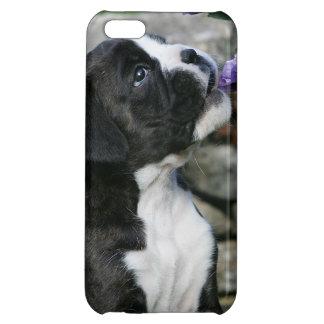 ボクサー犬の喘ぐこと iPhone 5C カバー