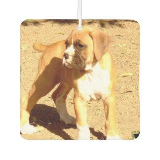 ボクサー犬の芳香剤 カーエアーフレッシュナー