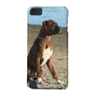 ボクサー犬の電話箱 iPod TOUCH 5G ケース