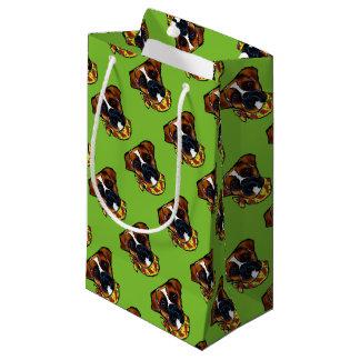 ボクサー犬Cinco deメーヨー スモールペーパーバッグ