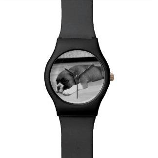 ボクサー犬May28thの腕時計 腕時計