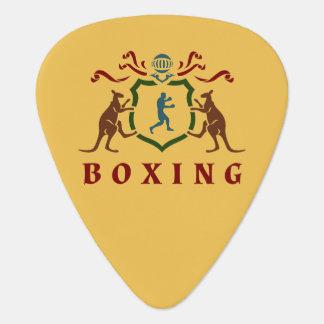 ボクシングのカンガルーの紋章のギターピック ギター用ピック
