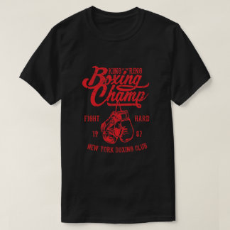 ボクシングのチャンピオンのTシャツ Tシャツ