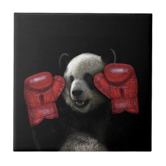 ボクシングのパンダ タイル