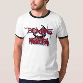 ボクシングのヘレナの半影の信号器のTシャツ(赤くか青) Tシャツ