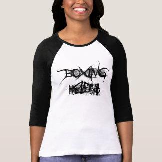 ボクシングのヘレナの半影の長袖のワイシャツ(女性) Tシャツ
